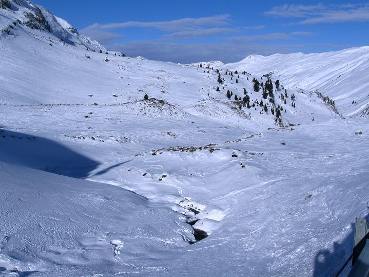 Foto: Andreas Koller / Ski Tour / Impressionen am Flüelapass (2606 m) / 09.02.2009 00:59:22