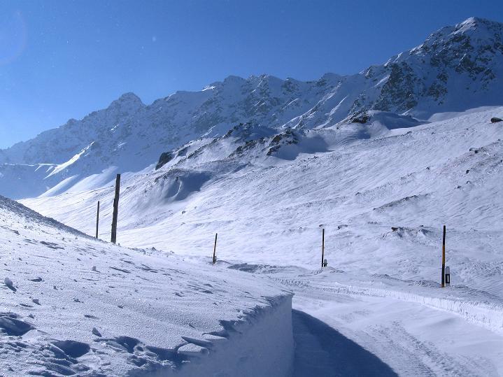 Foto: Andreas Koller / Ski Tour / Impressionen am Flüelapass (2606 m) / 09.02.2009 00:59:16