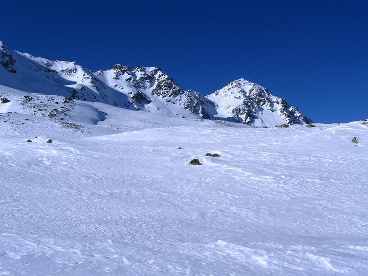 Foto: Andreas Koller / Ski Tour / Impressionen am Flüelapass (2606 m) / 09.02.2009 00:57:42
