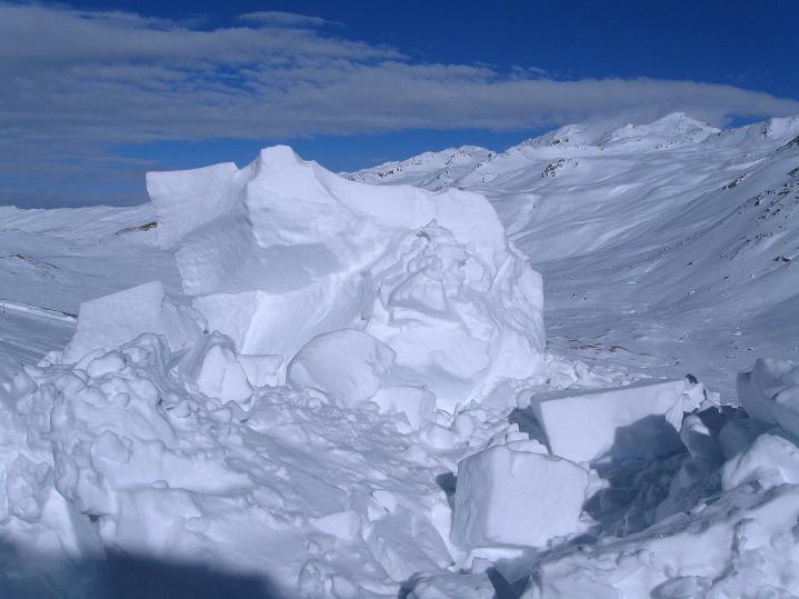 Foto: Andreas Koller / Ski Tour / Impressionen am Flüelapass (2606 m) / 09.02.2009 00:56:35
