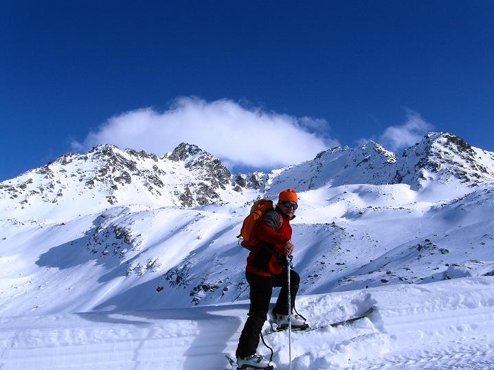 Foto: Andreas Koller / Ski Tour / Impressionen am Flüelapass (2606 m) / 09.02.2009 00:56:27