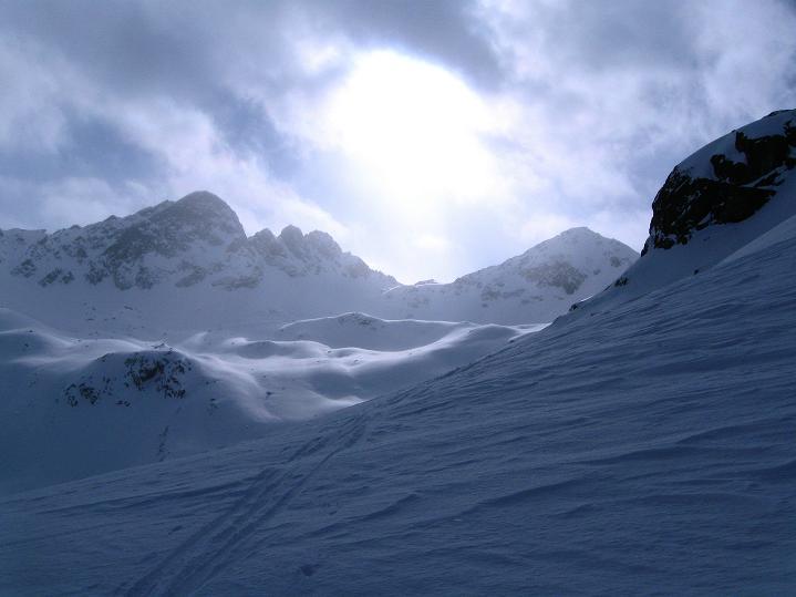 Foto: Andreas Koller / Ski Tour / Impressionen am Flüelapass (2606 m) / 09.02.2009 00:55:13