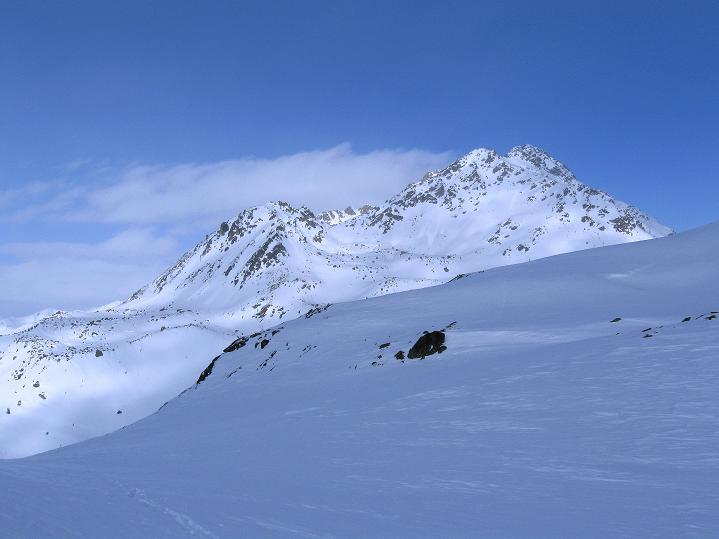 Foto: Andreas Koller / Ski Tour / Impressionen am Flüelapass (2606 m) / Flüela Wisshorn (3085 m) / 09.02.2009 00:55:04