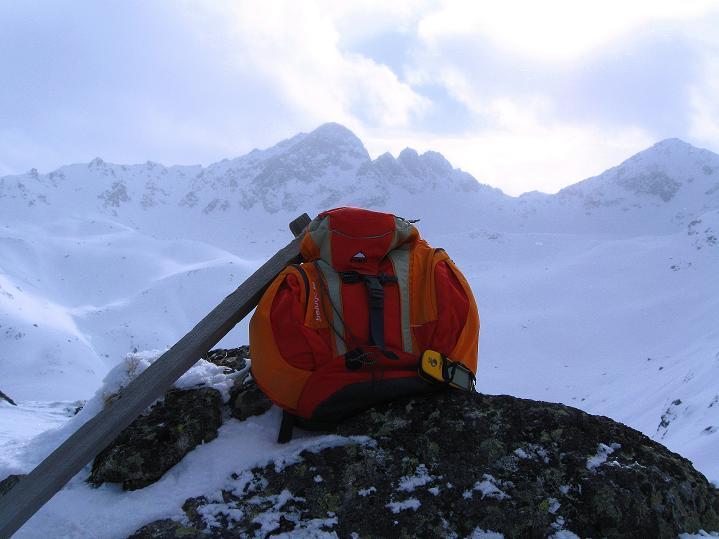 Foto: Andreas Koller / Ski Tour / Impressionen am Flüelapass (2606 m) / Am Flüela Horn / 09.02.2009 00:54:20