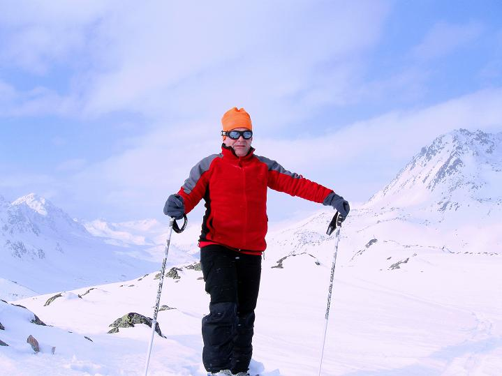 Foto: Andreas Koller / Ski Tour / Impressionen am Flüelapass (2606 m) / 09.02.2009 00:53:42