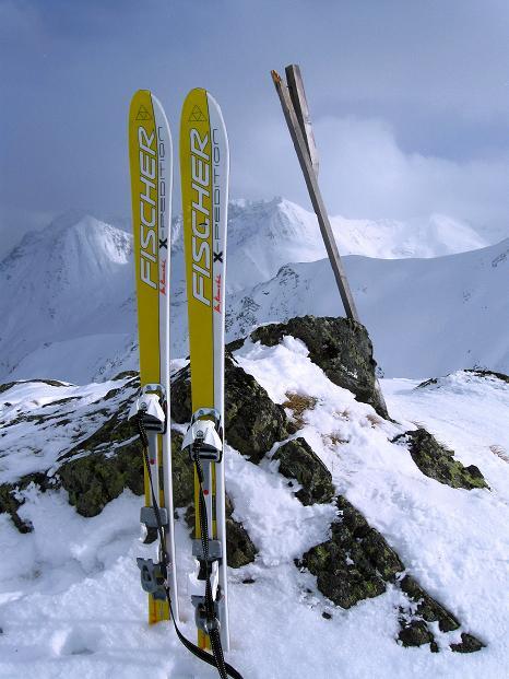 Foto: Andreas Koller / Ski Tour / Impressionen am Flüelapass (2606 m) / 09.02.2009 00:53:35