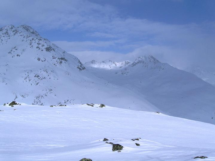 Foto: Andreas Koller / Ski Tour / Impressionen am Flüelapass (2606 m) / 09.02.2009 00:53:23