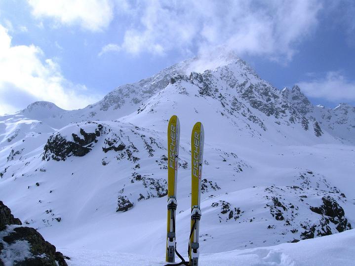 Foto: Andreas Koller / Ski Tour / Impressionen am Flüelapass (2606 m) / Flüela Schwarzhorn (3147 m) / 09.02.2009 00:52:51