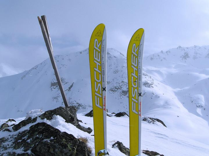 Foto: Andreas Koller / Ski Tour / Impressionen am Flüelapass (2606 m) / 09.02.2009 00:52:31