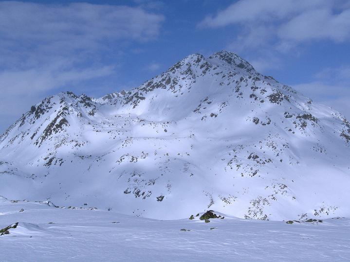 Foto: Andreas Koller / Ski Tour / Impressionen am Flüelapass (2606 m) / Flüela Wisshorn (3085 m) / 09.02.2009 00:52:14