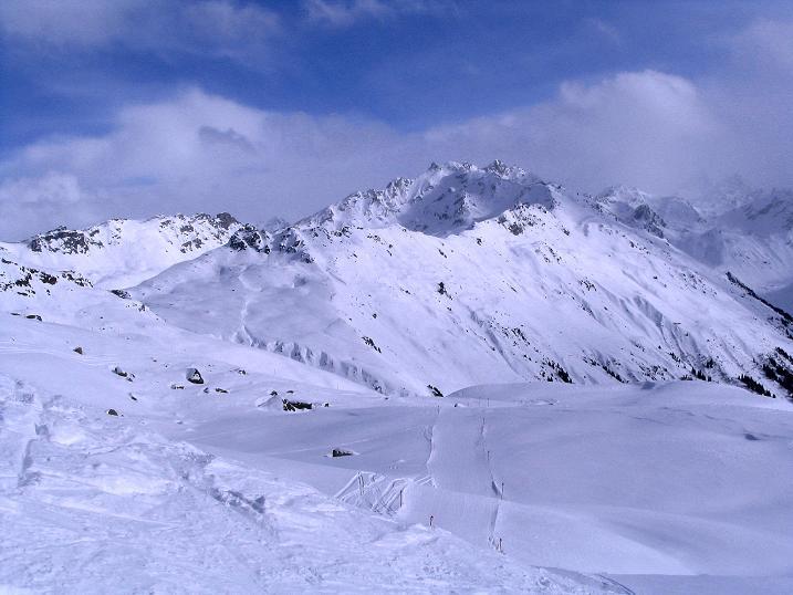 Foto: Andreas Koller / Ski Tour / Von der Madrisa aufs Rätschenhorn (2703m) / Silvrettaberge / 10.02.2009 19:57:20