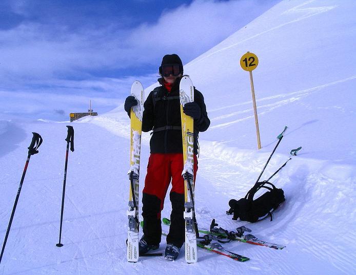 Foto: Andreas Koller / Ski Tour / Von der Madrisa aufs Rätschenhorn (2703m) / 10.02.2009 19:55:58