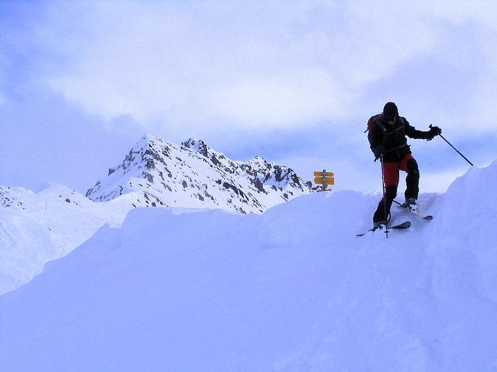 Foto: Andreas Koller / Ski Tour / Von der Madrisa aufs Rätschenhorn (2703m) / 10.02.2009 19:53:43