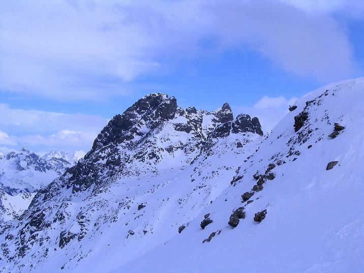 Foto: Andreas Koller / Ski Tour / Von der Madrisa aufs Rätschenhorn (2703m) / 10.02.2009 19:53:35