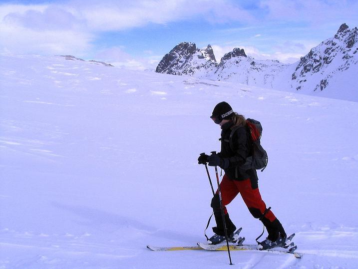 Foto: Andreas Koller / Ski Tour / Von der Madrisa aufs Rätschenhorn (2703m) / 10.02.2009 19:50:24