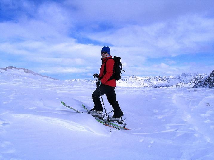 Foto: Andreas Koller / Ski Tour / Von der Madrisa aufs Rätschenhorn (2703m) / 10.02.2009 19:46:59