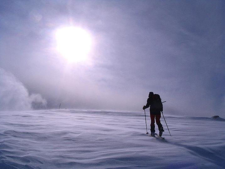 Foto: Andreas Koller / Ski Tour / Von der Madrisa aufs Rätschenhorn (2703m) / Mystische Stimmung am Rätschenhorn / 10.02.2009 19:45:11