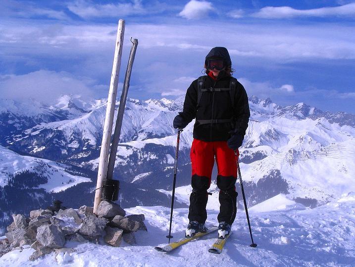 Foto: Andreas Koller / Ski Tour / Von der Madrisa aufs Rätschenhorn (2703m) / Am Rätschenhorn / 10.02.2009 19:44:17