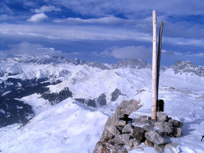 Foto: Andreas Koller / Ski Tour / Von der Madrisa aufs Rätschenhorn (2703m) / 10.02.2009 19:44:03