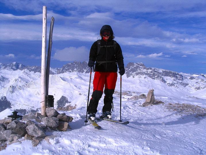 Foto: Andreas Koller / Ski Tour / Von der Madrisa aufs Rätschenhorn (2703m) / 10.02.2009 19:43:55