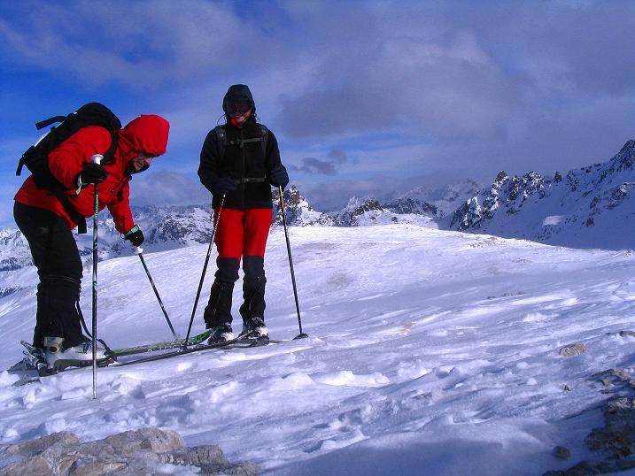 Foto: Andreas Koller / Ski Tour / Von der Madrisa aufs Rätschenhorn (2703m) / 10.02.2009 19:41:07