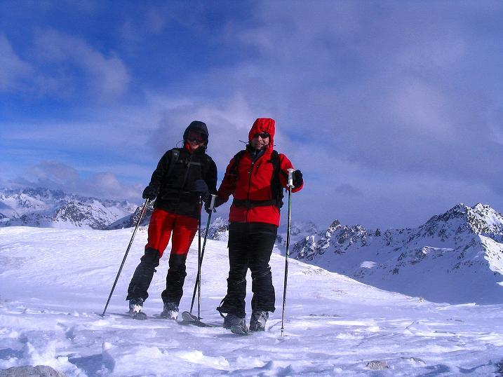Foto: Andreas Koller / Ski Tour / Von der Madrisa aufs Rätschenhorn (2703m) / 10.02.2009 19:40:56