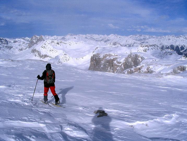Foto: Andreas Koller / Ski Tour / Von der Madrisa aufs Rätschenhorn (2703m) / 10.02.2009 19:40:47
