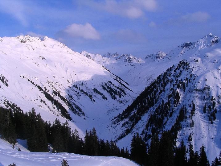 Foto: Andreas Koller / Ski Tour / Von der Madrisa aufs Rätschenhorn (2703m) / Blick in die Silvretta / 10.02.2009 19:39:58