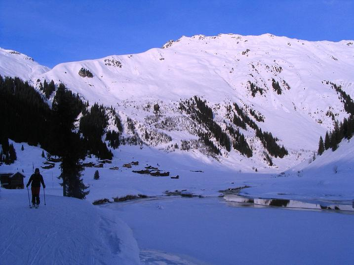 Foto: Andreas Koller / Ski Tour / Von der Madrisa aufs Rätschenhorn (2703m) / Im Schlappintal / 10.02.2009 19:38:55