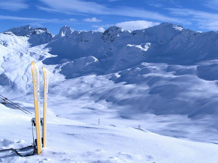 Foto: Andreas Koller / Ski Tour / Piz Turba (3018m) / 09.02.2009 23:28:29