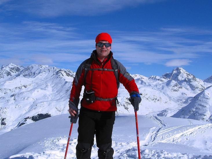 Foto: Andreas Koller / Ski Tour / Piz Turba (3018m) / 09.02.2009 23:27:45