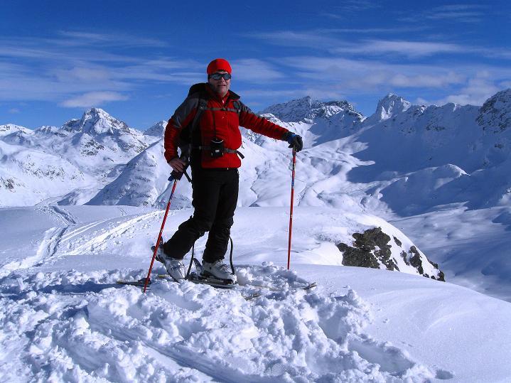 Foto: Andreas Koller / Ski Tour / Piz Turba (3018m) / 09.02.2009 23:27:30