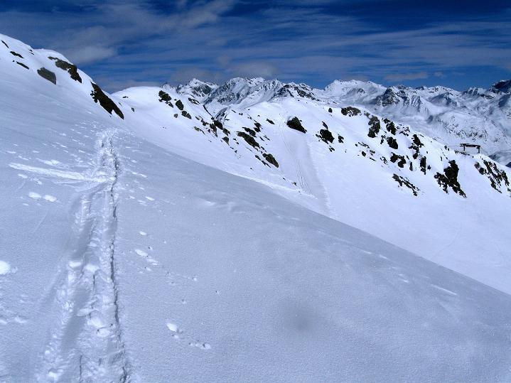 Foto: Andreas Koller / Ski Tour / Piz Turba (3018m) / 09.02.2009 23:27:24