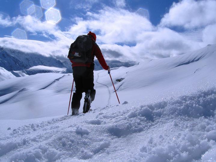 Foto: Andreas Koller / Ski Tour / Piz Turba (3018m) / 09.02.2009 23:27:17