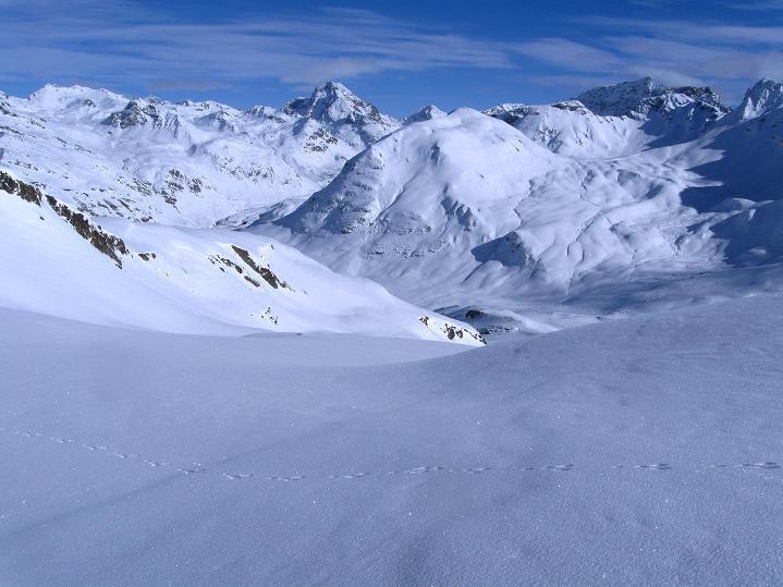 Foto: Andreas Koller / Ski Tour / Piz Turba (3018m) / 09.02.2009 23:27:09