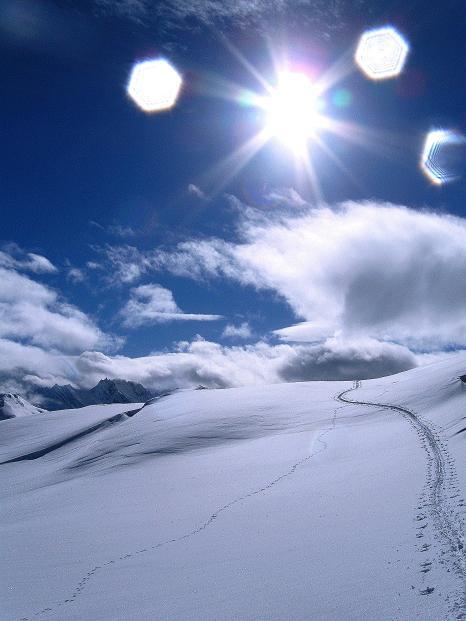 Foto: Andreas Koller / Ski Tour / Piz Turba (3018m) / 09.02.2009 23:27:02
