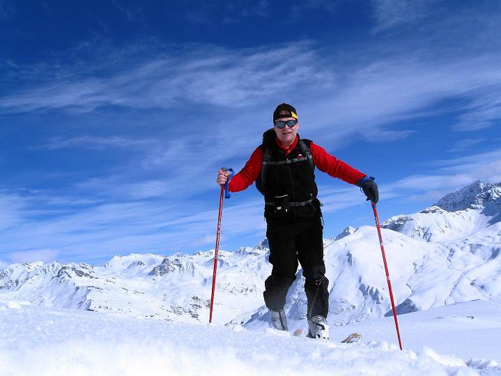 Foto: Andreas Koller / Ski Tour / Piz Turba (3018m) / 09.02.2009 23:26:55