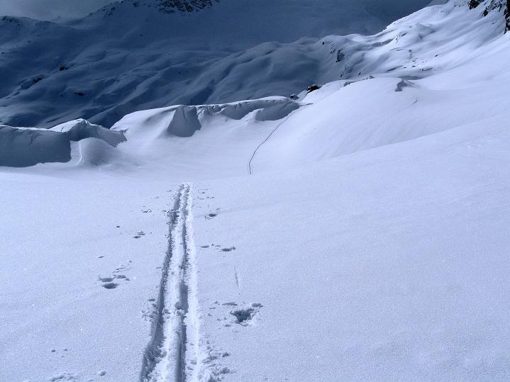 Foto: Andreas Koller / Ski Tour / Piz Turba (3018m) / 09.02.2009 23:26:00