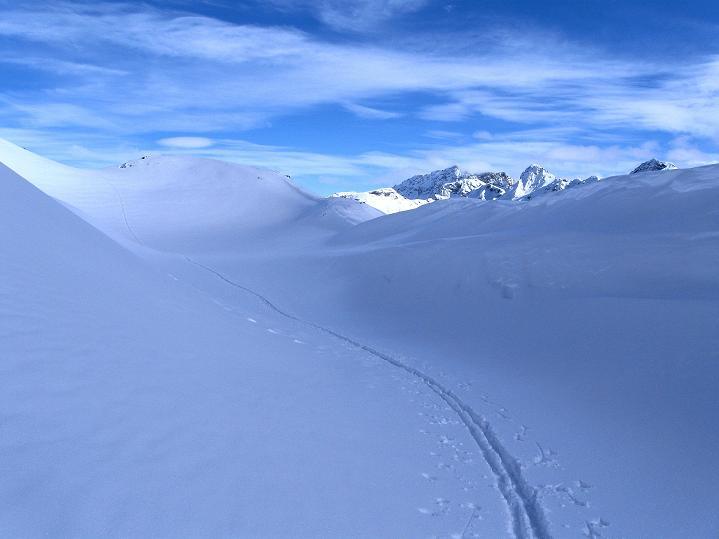 Foto: Andreas Koller / Ski Tour / Piz Turba (3018m) / 09.02.2009 23:25:21
