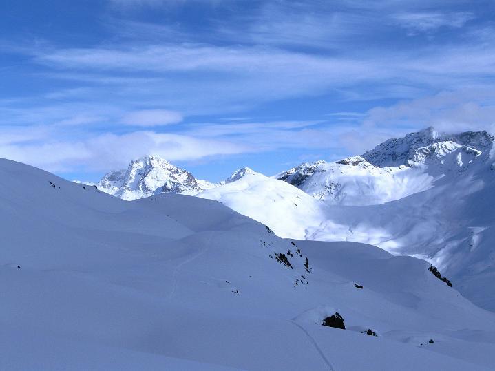 Foto: Andreas Koller / Ski Tour / Piz Turba (3018m) / 09.02.2009 23:25:14