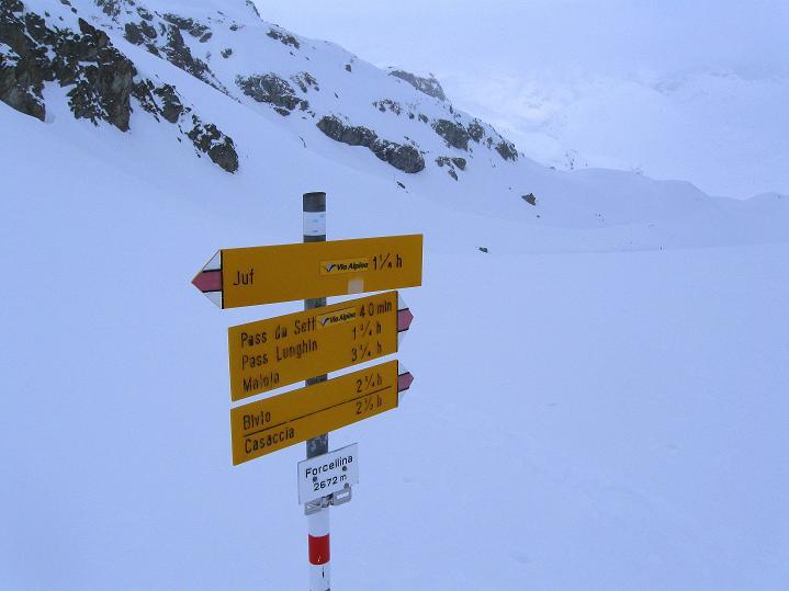 Foto: Andreas Koller / Ski Tour / Piz Turba (3018m) / Forcellina (2672 m) / 09.02.2009 23:24:32