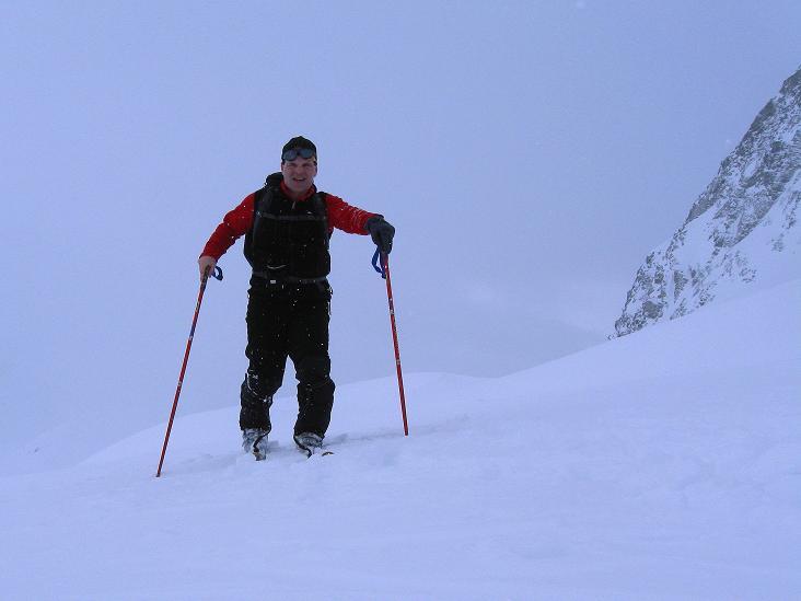 Foto: Andreas Koller / Ski Tour / Piz Turba (3018m) / Kurz oberhalb der Forcellina / 09.02.2009 23:24:18