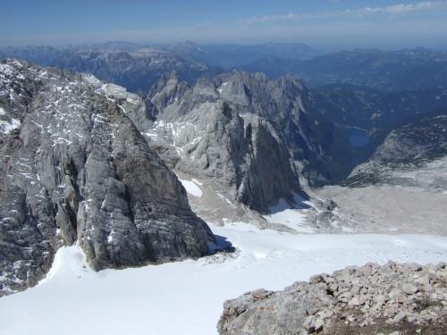 Foto: hofchri / Wander Tour / Hoher Dachstein (2995 m) von der Bergstation Hunerkogel (2687 m) / tolles Panorama ins Alpenvorland / 10.02.2009 19:03:44