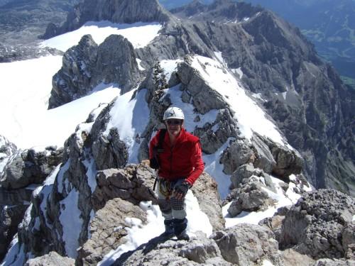 Foto: hofchri / Wander Tour / Hoher Dachstein (2995 m) von der Bergstation Hunerkogel (2687 m) / am Gipfel angekommen / 10.02.2009 19:03:59