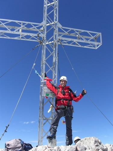 Foto: hofchri / Wander Tour / Hoher Dachstein (2995 m) von der Bergstation Hunerkogel (2687 m) / auf geschummelten 3.000 m / 10.02.2009 19:04:36