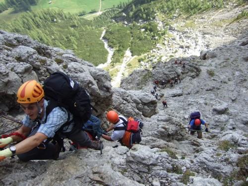 Foto: hofchri / Klettersteig Tour / Pisciadú-Hütte (2585 m) über Ferrata