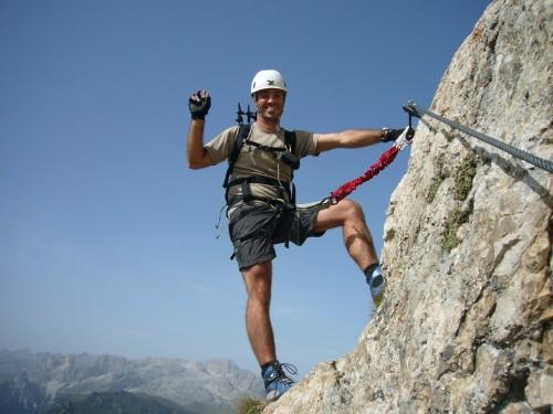 Foto: hofchri / Klettersteig Tour / Col Rodella (2484 m) über Ferrata