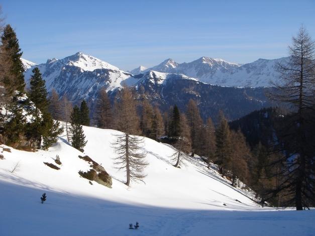 Foto: Manfred Karl / Ski Tour / Schwarzeck, Fuchskar / Ein Stück oberhalb der Fuchshütte gelangt man allmählich in freies Gelände / 15.02.2009 14:26:58