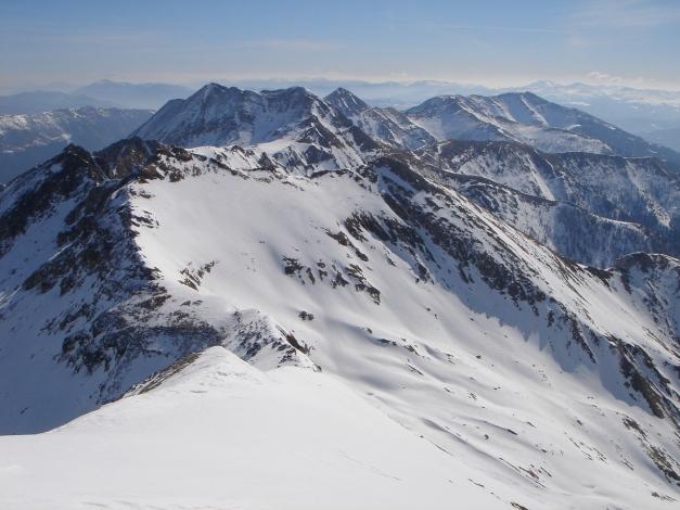 Foto: Manfred Karl / Ski Tour / Schwarzeck, Fuchskar / Richtung Süden: Weißeneck - Schareck - Speiereck / 15.02.2009 14:24:31