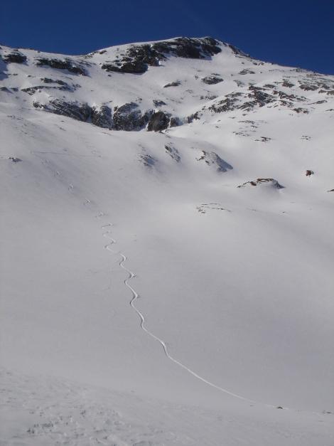 Foto: Manfred Karl / Ski Tour / Schwarzeck, Fuchskar / Fuchskar mit Schwarzeck / 15.02.2009 14:18:49